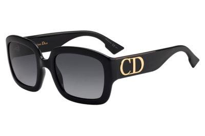 Christian Dior Ddior 807/9O BLACK 54 Akiniai nuo saulės Moterims