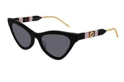 Gucci GG0597S 001 black black grey 55 Donna
