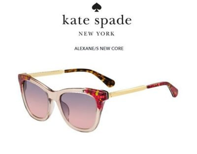 Kate Spade Alexane/s OBL/FF GRAPHIC PINK 53 Donna