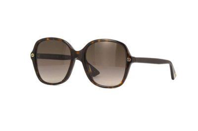 Gucci GG0092S 001-black 55 Akiniai nuo saulės Moterims