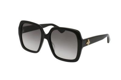 Gucci GG0096S 001-black 54 Akiniai nuo saulės Moterims