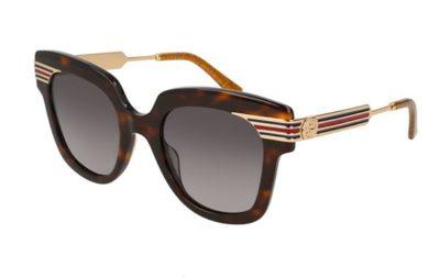 Gucci GG0281S 002-havana-gold-brown 50 Donna