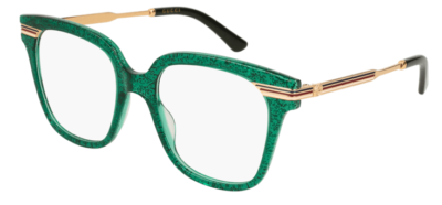 Gucci GG0284O 004-green-gold-transparen 50 Donna