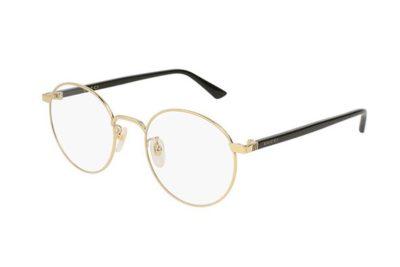 Gucci GG0297OK 001-gold-black-transparen 52 Unisex