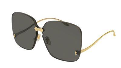 Gucci GG0352S 001-gold-gold-grey  Akiniai nuo saulės Moterims