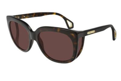 Gucci GG0468S 002 havana havana brown 57 Donna
