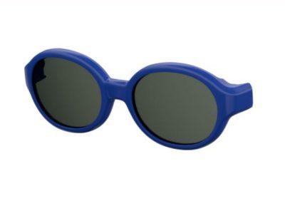 Safilo Sa 0004nclip-on PJP/M9 BLUE 43 Akiniai nuo saulės vaikams