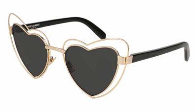 Yves Saint Laurent SL 197 LOULOU 002-gold-black-grey 57 Moterims