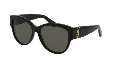 Yves Saint Laurent SL M3 black 55 Akiniai nuo saulės Moterims