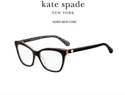 Kate Spade Adria 3H2/16 BLACK PINK 52 Akinių rėmeliai Moterims