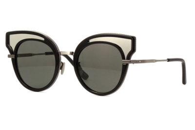Bottega Veneta BV0094S black 49 Akiniai nuo saulės Moterims