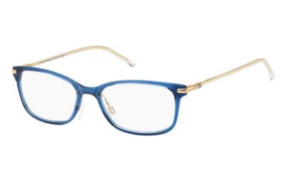 Tommy Hilfiger Th 1400 R21/17 BLUE CRYSTAL 53 Akinių rėmeliai Moterims