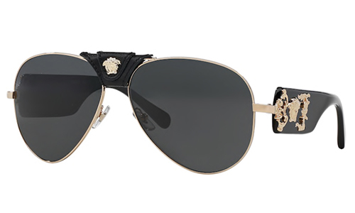 Versace 2150Q SOLE 100287 62 Akiniai nuo saulės Vyrams