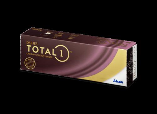 Vienadieniai kontaktiniai lesiai Dailies TOTAL1 (30 lęšiai)