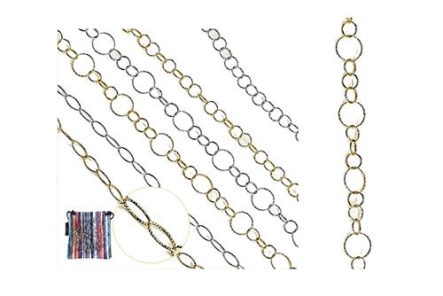 CATENELLA METALLO GOLD TONDO 09614