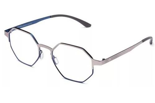 Adidas AOM006O.075.022 silver and blue 50 Akinių rėmeliai