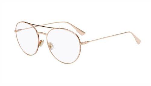 Christian Dior Diorstellaireo5 NOA/17 GOLD BRGNDY 54 Akinių rėmeliai Moterims