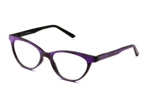 Pop Line IV054.TRT.017 violet tartan 52 Akinių rėmeliai