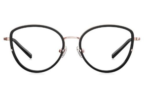 Optical BJ6066B10 shiny black 51 Akinių rėmeliai Moterims