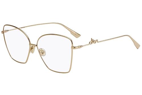Christian Dior Diorsignatureo1 J5G/14 GOLD 61 Akinių rėmeliai Moterims