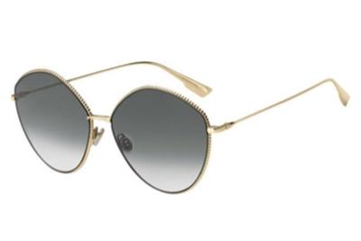 Christian Dior Diorsociety4 J5G/9O GOLD 61 Akiniai nuo saulės Moterims