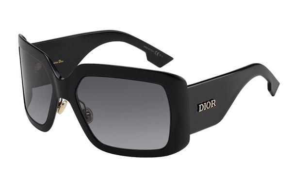 Christian Dior Diorsolight2 807/9O BLACK 61 Akiniai nuo saulės Moterims