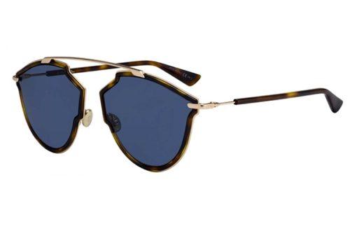 Christian Dior Diorsorealrise QUM/KU DKHVNA GOLD 58 Akiniai nuo saulės Moterims