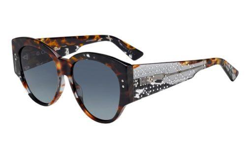 Christian Dior Ladydiorstuds2 ACI/1I GRY GRYBKSPT 55 Akiniai nuo saulės Moterims