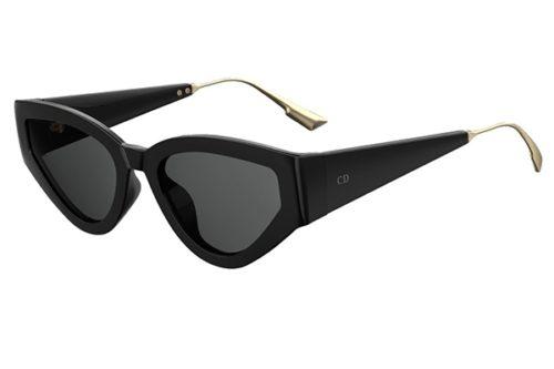 Christian Dior Catstyledior1 807/2K BLACK 53 Akiniai nuo saulės Moterims