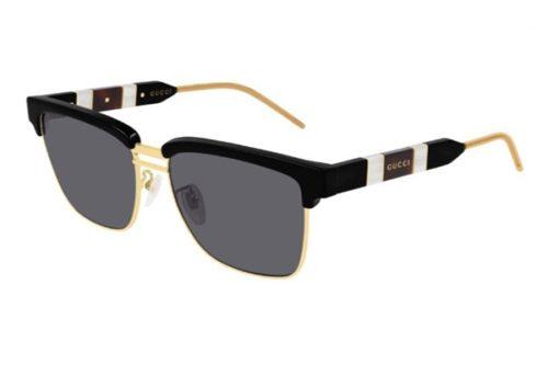 Gucci GG0603S 001 black black grey 56 Akiniai nuo saulės Vyrams