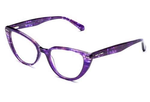 Italia Independent 5862.094.GLS havana violet 51 Akinių rėmeliai Moterims