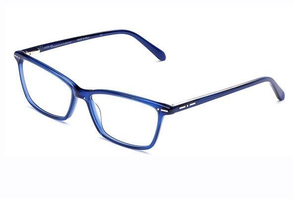 Italia Independent 5866.021.GLS dark blue glossy 54 Akinių rėmeliai Vyrams