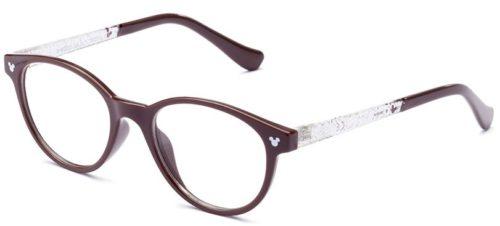 Italia Independent DYB005O.044.GLT brown & glitter 44 Akinių rėmeliai