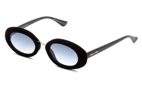 Italia Independent 0941V.009.000 velvet black 48 Akiniai nuo saulės Moterims
