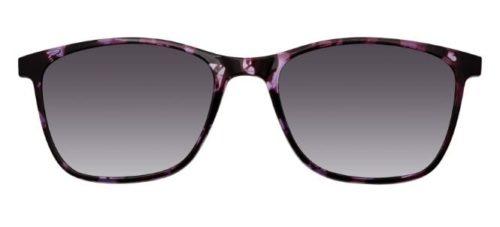 MODO YAMUNA clip on purple tortoise 53 Akinių rėmeliai Moterims