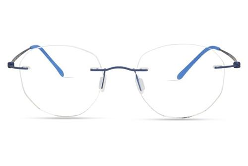 Modo 4610 matte blue 49 Akinių rėmeliai Unisex