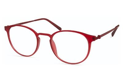 Modo 7002 matt red   brown tortoise 47 Akinių rėmeliai Unisex
