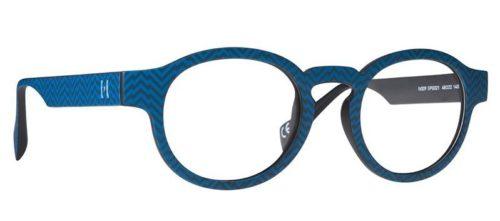 Pop Line IV009.SPG.021 spigato dark blue 48 Akinių rėmeliai