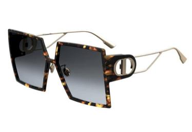 Christian Dior 30montaigne EPZ YELL REDHAVN 58 Akiniai nuo saulės Moterims