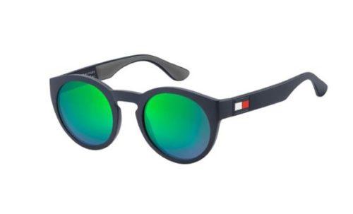 Tommy Hilfiger Th 1555/s RNB/Z9 BLUE GREEN 49 Akiniai nuo saulės Vyrams