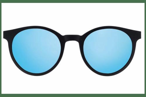 CentroStyle 56364AS MATT BLACK/BLUE MIRROR   Akinių rėmeliai