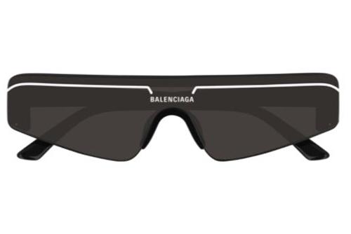 Balenciaga BB0003S 001 black black grey  Akiniai nuo saulės unisex