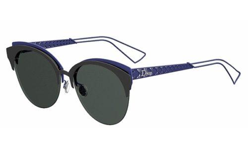 Christian Dior Dioramaclub G5V/2K MTTBLCK BLUE 55 Akiniai nuo saulės Moterims