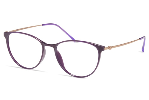 Modo 7035 purple 51 Akinių rėmeliai Moterims