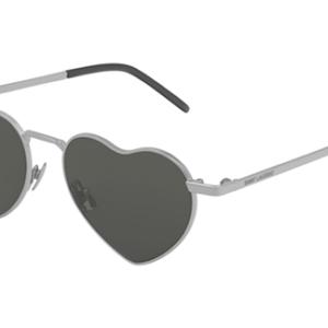 Yves Saint Laurent SL 301 LOULOU 001 silver silver grey 52 Akiniai nuo saulės Unisex