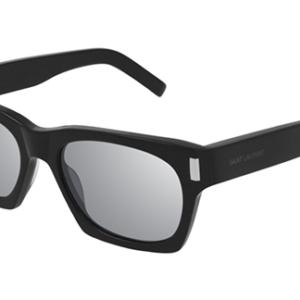 Yves Saint Laurent SL 402 002 black black silver 54 Akiniai nuo saulės Unisex