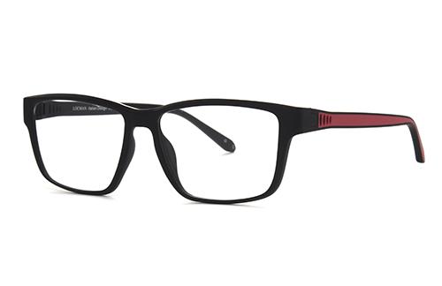Locman LOCV010/BRE black/red 57 Akinių rėmeliai