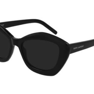 Yves Saint Laurent SL 68 001 black black black 54 Akiniai nuo saulės Moterims